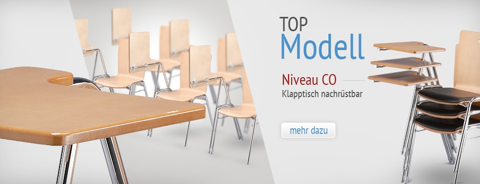 Unsere Collegestuhl Top Modell Niv.eau CO