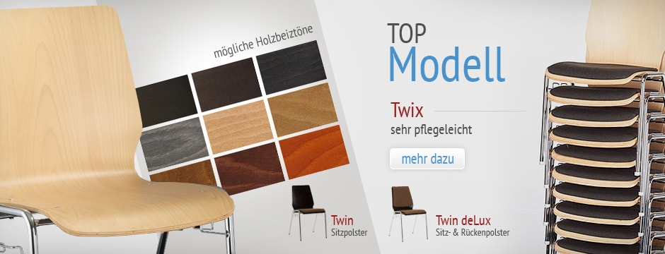 Unser Holzstuhl Top Modell Twi.x